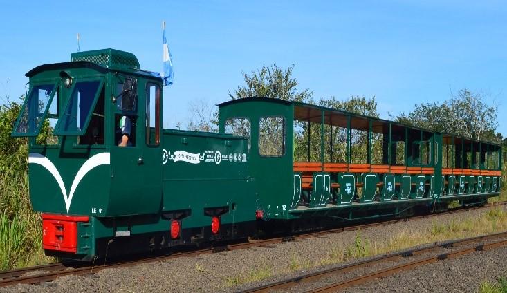 El Tren de la Selvaen el Parque Nacional Iguazú cuenta con nuevos vagones