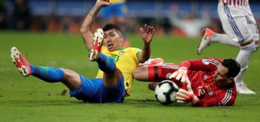 Brasil venció a Paraguay por penales y está en las semifinales de la Copa América