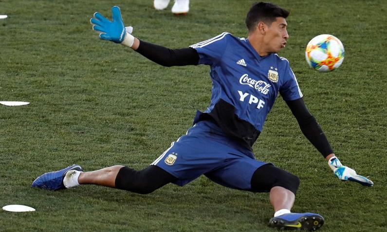 Esteban Andrada se lesionó y se pierde la Copa América: quién será su reemplazante