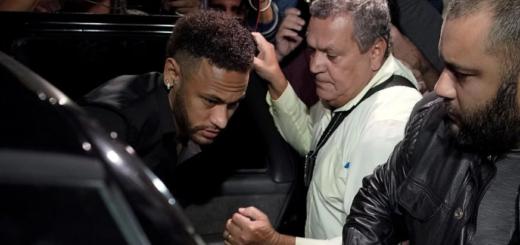 La llamativa frase de Neymar luego de haber sido denunciado por violación