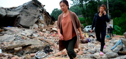 Un fuerte terremoto dejó al menos 12 muertos y 134 heridos en China
