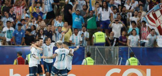 Copa América: Argentina venció 2-0 a Venezuela y enfrentará a Brasil en la semifinal