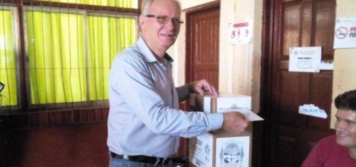 Bruno Beck destacó que la gente por sus propios medios se acercó a votar de forma masiva en Andresito