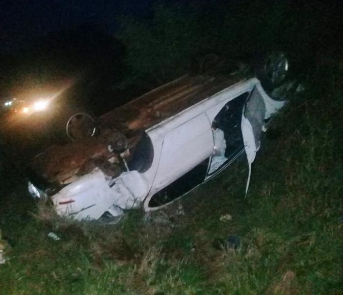 San Martín: siniestro vial en la ruta 103, dejó como saldo tres personas lesionadas
