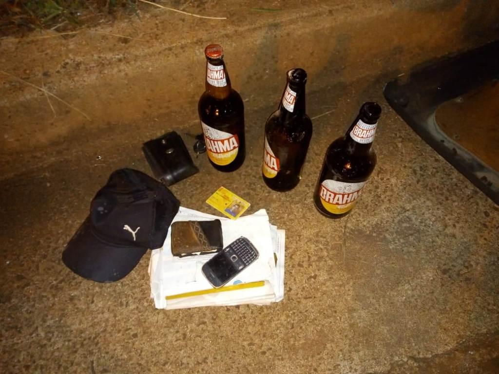 Joven conducía con 1,82 grados de alcohol cuando despistó y chocó contra un muro en el Acceso  Sur de Posadas