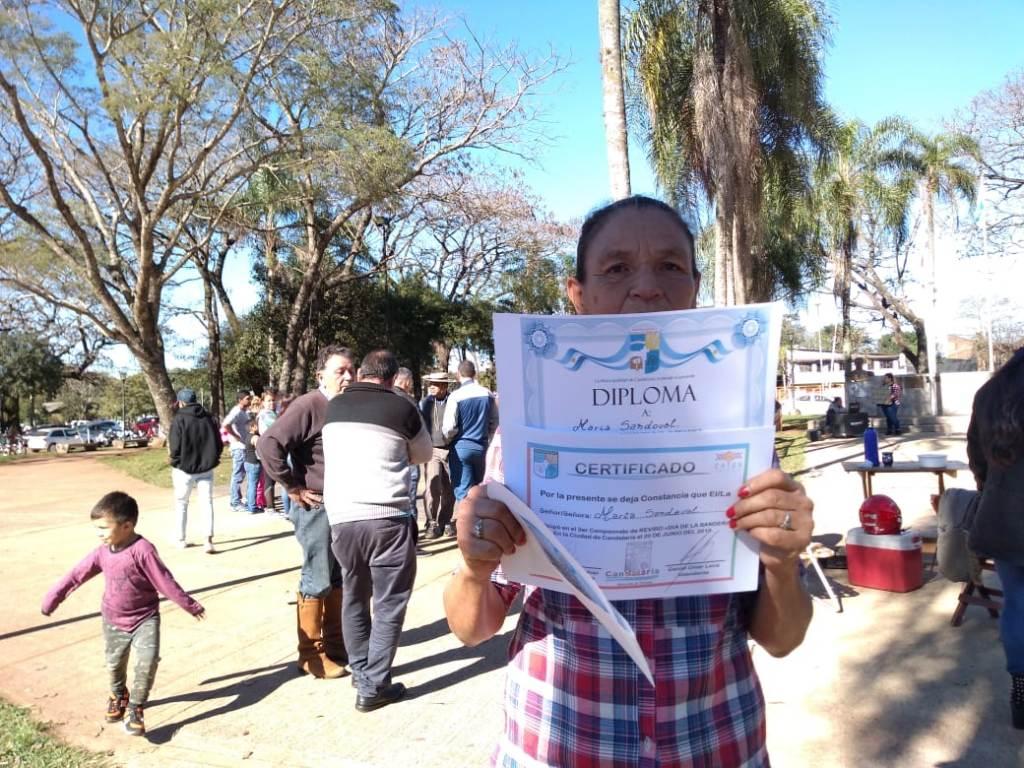 Una mujer de Candelaria fue la ganadora del 3er Campeonato provincial del Reviro
