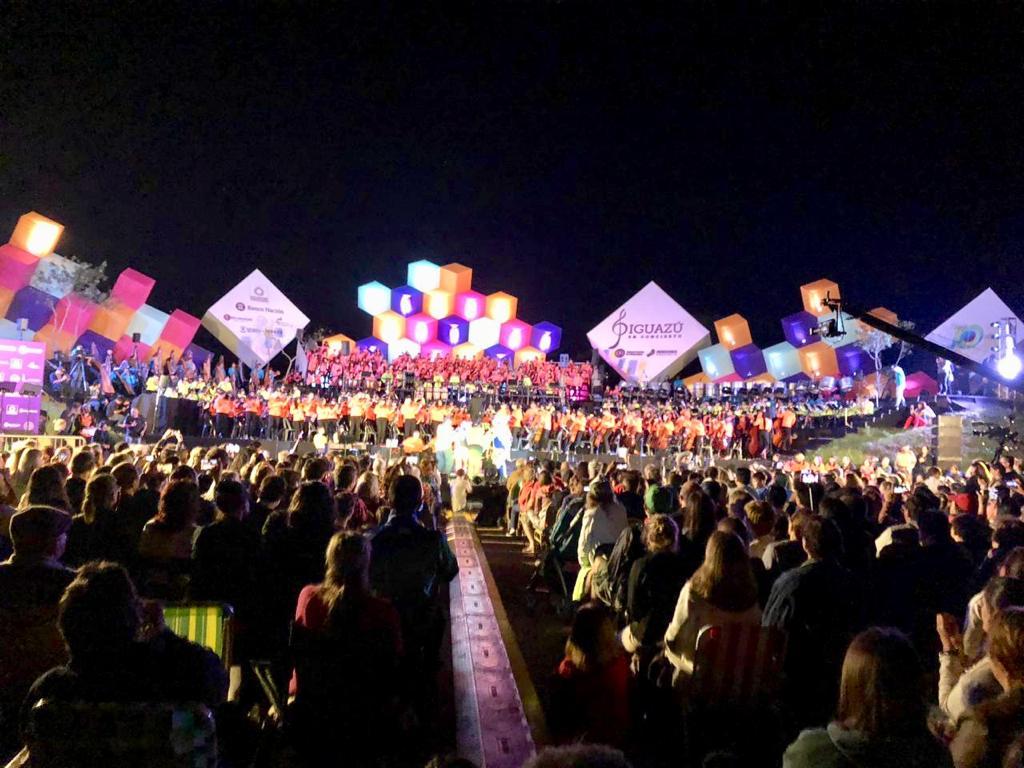 Gran cierre del Iguazú en Concierto 2019 con más de 5 mil personas