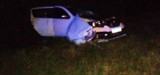 Conductor de un camión en aparente estado de ebriedad chocó contra un vehículo en la Ruta 14 dejando como saldo una víctima fatal