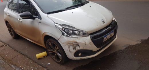 Posadas: accidente de tránsito dejó una persona lesionada