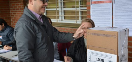"""#MisionesVota Diego Sartori: """"Hoy los misioneros votamos con valor"""""""