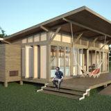 Se inaugurará la fábrica de viviendas de madera que ofrecerá casas prefabricadas desde 300 mil pesos