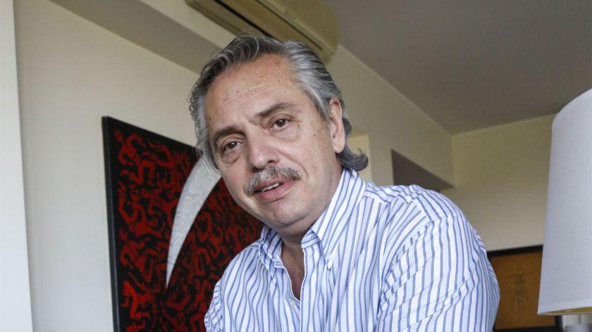 Le dieron el alta a Alberto Fernández y retoma su agenda de campaña