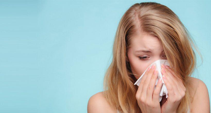 Desde Salud recomendaron no automedicarse en casos de posibles gripes y alergias, sino acudir a un centro de salud