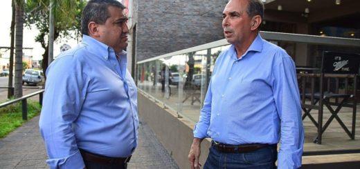 Stelatto compartió un almuerzo con el intendente de Encarnación y marcó una agenda de trabajo en conjunto para el futuro
