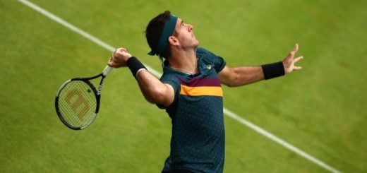 Juan Martín Del Potro venció a Shapovalov en su debut en el ATP 500 de Queen's
