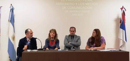 """La Justicia capacitó a periodistas sobre cómo """"compartir información"""""""