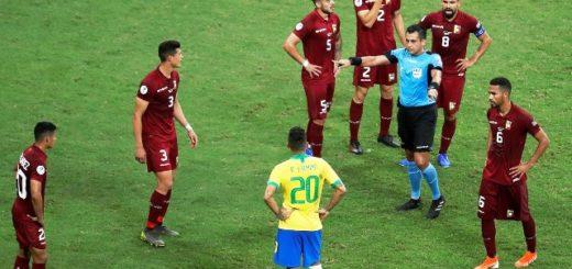 #CopaAmérica: el árbitro que le anuló tres goles a Brasil fue designado para el decisivo Argentina-Qatar