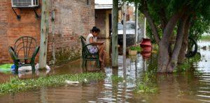Entre Ríos: evacuaron a decenas de familias por las intensas lluvias