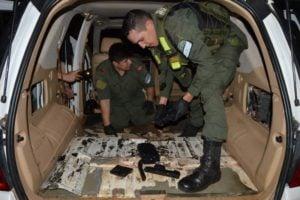 Controles en la frontera: luego de dos operativos incautan más de 300 kilos de marihuana y cocaína en Misiones