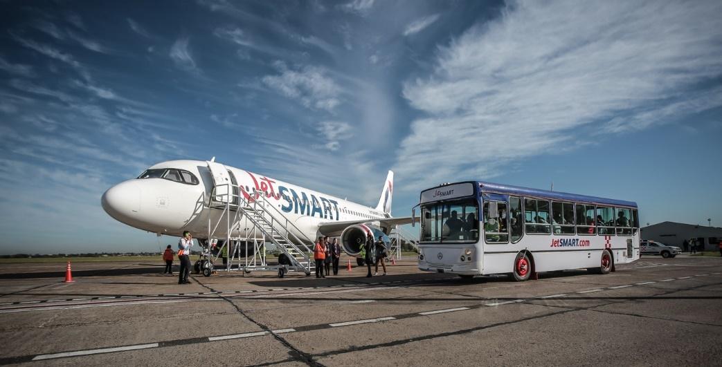 JetSMART operará en junio cuatro nuevas rutas nacionales y consolida su presencia en las provincias argentinas