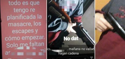 Pánico en una escuela de Buenos Aires: un alumno amenazó con una masacre