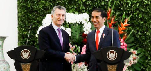 """Macri: """"Indonesia es un socio comercial clave para el presente y futuro de la Argentina"""""""