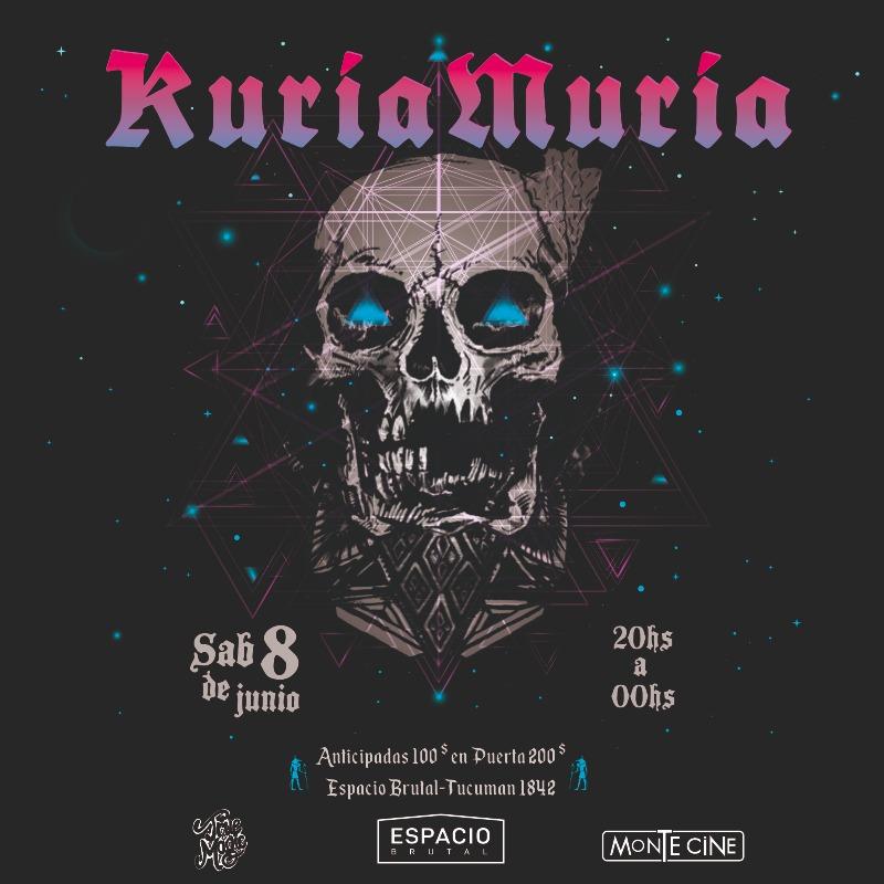 Tras 21 años de rock fuerte, la banda Kuria Muria se despide este sábado de los escenarios