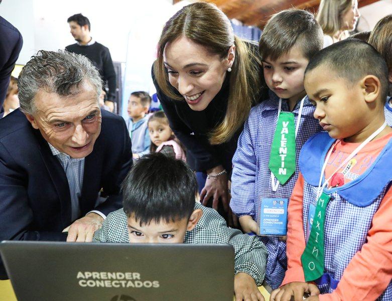 """Macri: """"Por este camino de trabajo, de diálogo y de verdad, los chicos van a tener un enorme futuro"""""""