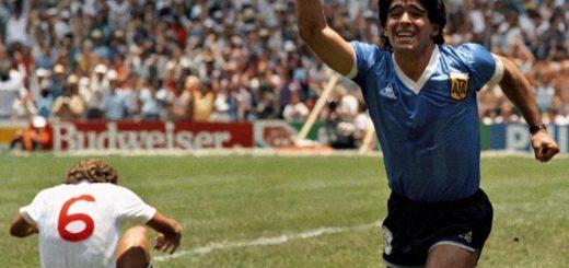 Más de tres décadas de los goles inolvidables de Maradona ante Inglaterra