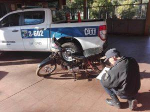 Eldorado: Policías recuperaron una moto robada que fue vendida en una red social