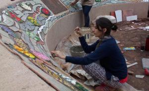 Oberá: culminaron el mural artístico en el Parque de las Naciones