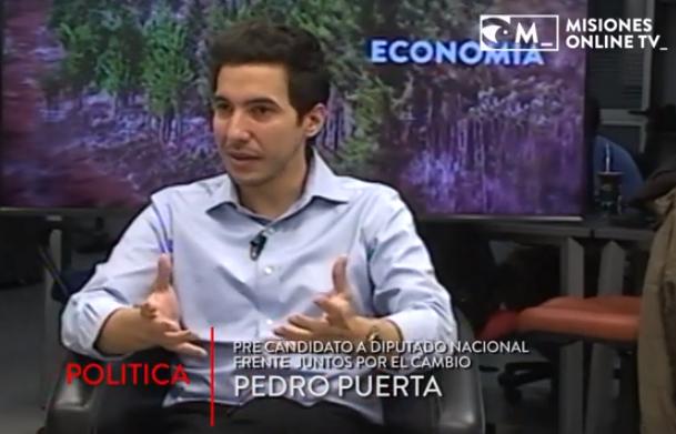 """Para Pedro Puerta """"la incorporación del peronismo a Cambiemos trajo calma"""", dentro y fuera de Argentina"""