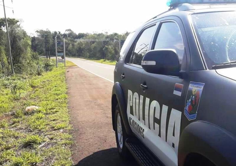 Posadas: tres jóvenes terminaron heridos tras colisionar en un auto sobre avenida San Martín