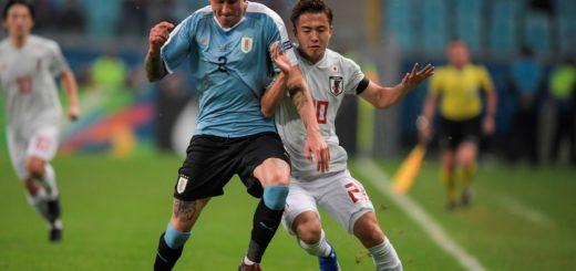 Otra sorpresa en la Copa América: Uruguay y Japón igualaron en Porto Alegre