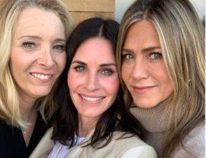 """El reencuentro de las protagonistas de """"Friends"""", a 25 años del estreno de la serie"""