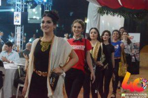 Con todo el esplendor, se presentaron las candidatas a Reina 2019 de la Fiesta Nacional del Inmigrante