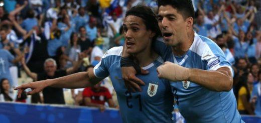 Copa América: Uruguay venció por la mínima a Chile y avanzó como líder del Grupo C