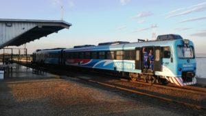 Desde la madrugada del lunes se prevé un paro en el servicio del tren internacional que une Posadas con Encarnación