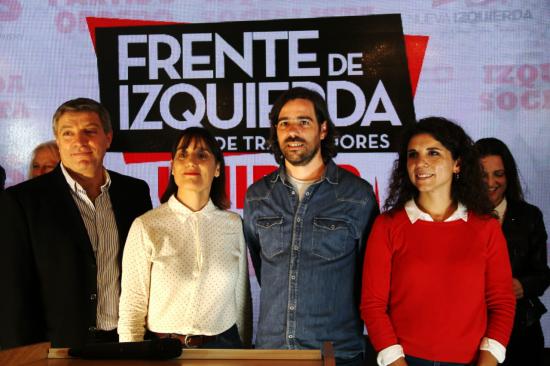 El Frente de Izquierda confirmó la fórmula Del Caño-Del Plá y anunció listas unitarias en todo el país
