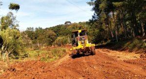 Eldorado: Vialidad comenzó el arreglo del camino a los barrios del kilómetro 18