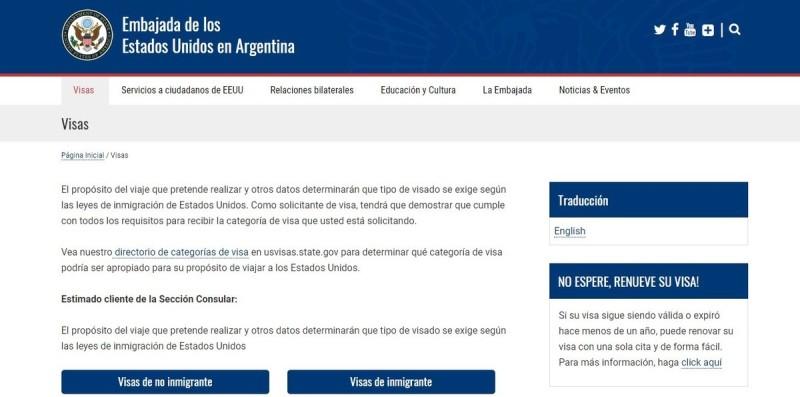 El Gobierno de Estados Unidos pedirá un historial de redes sociales a los que soliciten la visa