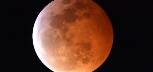 Dónde y cómo será el eclipse lunar de hoy