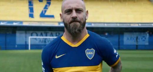 El emotivo video con el que Boca le dio la bienvenida a Daniele De Rossi