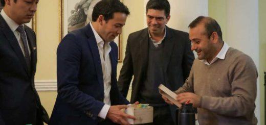 Herrera Ahuad recibió a una delegación de jóvenes líderes estadounidenses que están de visita en Misiones