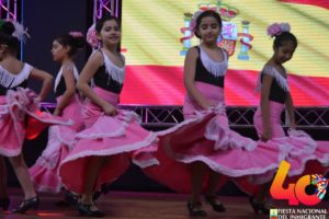 Oberá: los pequeños le pusieron calor al cierre de la Pre Fiesta del Inmigrante