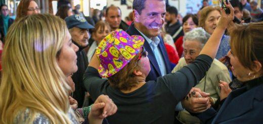 """Massa: """"El Gobierno eligió que el ajuste lo paguen los jubilados"""""""