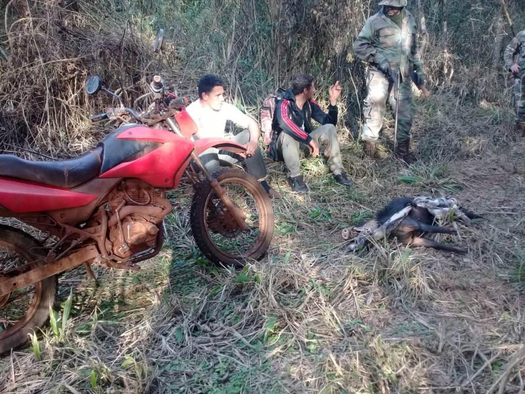 Dos hombres fueron detenidos por caza furtiva y portación ilegal de armas en la reserva de Biósfera Yabotí