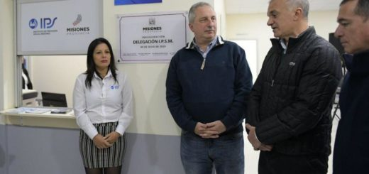 Carlos Arce inauguró una nueva delegación de IPS en Itaembé Guazú