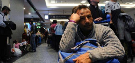 Protesta en Aeroparque genera retrasos en los vuelos: el avión que llega a Posadas a las 13:45 está demorado