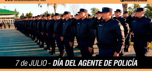 7 de Julio: hoy saludamos a todos los agentes de la Policía